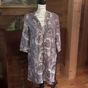 Massimo Dutti silk tunic